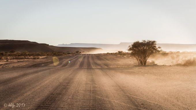Gravel Road in Namibia by Karl-Heinz - Summer Road Trip Photo Contest