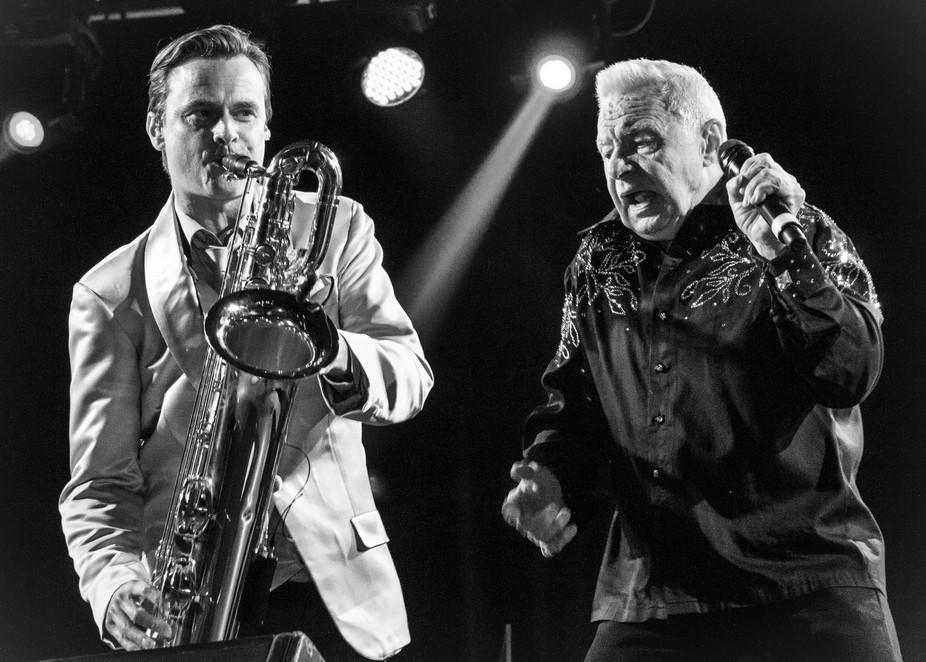 Swedish rock artist Jerry Williams, still on tour at age 72.
