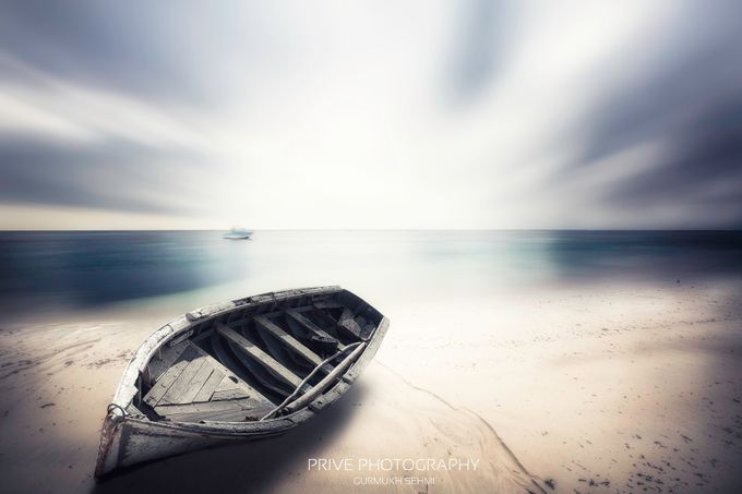 lonely boat by Prive - Ships And Boats Photo Contest