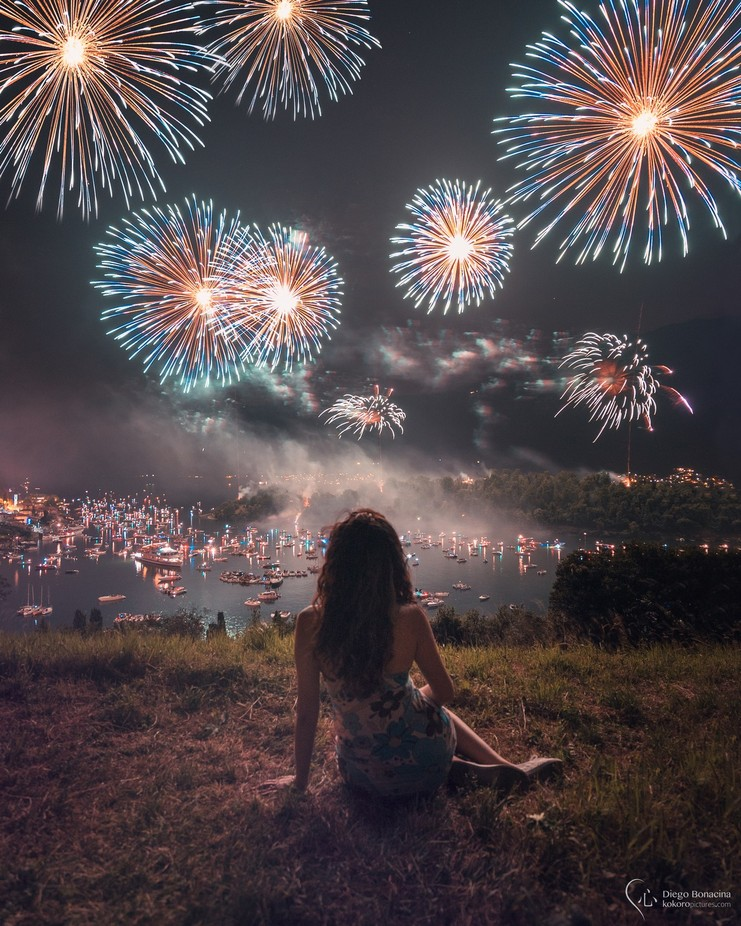 The girl and the fireworks by SirDiegoSama - Once Upon A Time Photo Contest