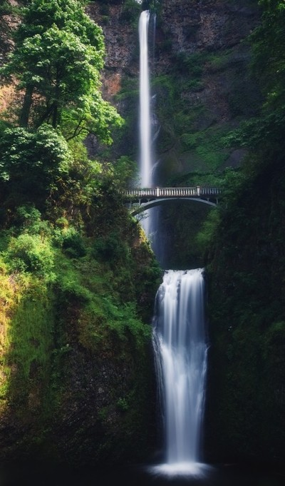 The Whole Of Multnomah Falls