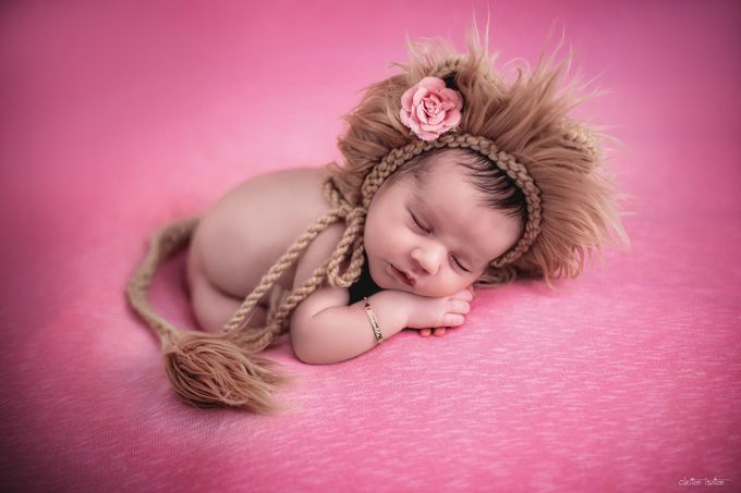 Little Lioness by cleitonisoton - Babies Are Cute Photo Contest