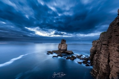 Blue Hour at Cape Carvoeiro