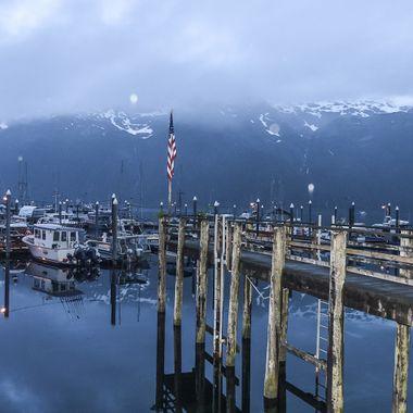 Taken on a recent fishing trip to Pelican, Alaska.