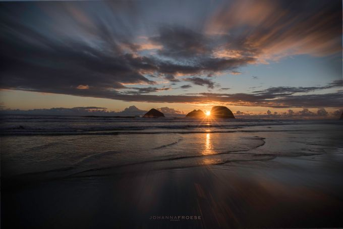 Sunset at Oceanside, OR by johannafroese - The Moving Clouds Photo Contest