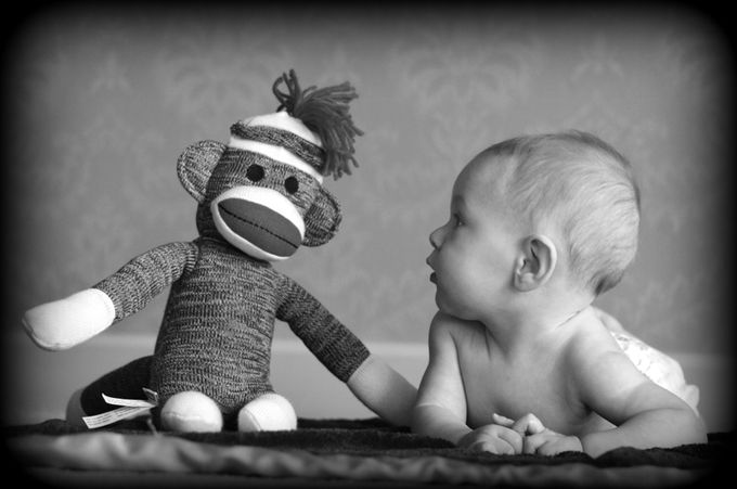 by StephenLittlePhotography - Babies In Black And White Photo Contest