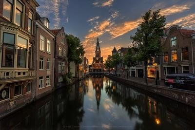 An evening in Alkmaar