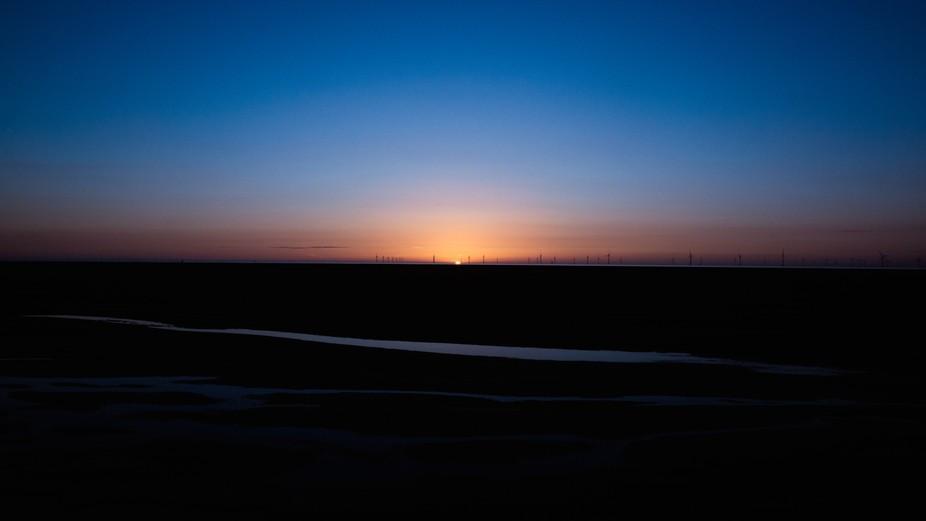 Sunset photo.