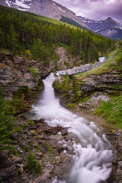 Blakiston Falls - Waterton National park-Canada_Edit v1