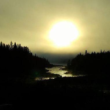 Novar, Ontario...sun rise