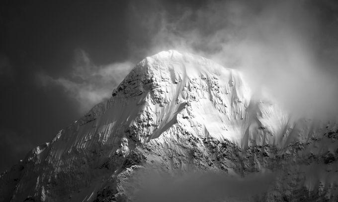 White Mountain by jasonmatias - Black And White Mountain Peaks Photo Contest