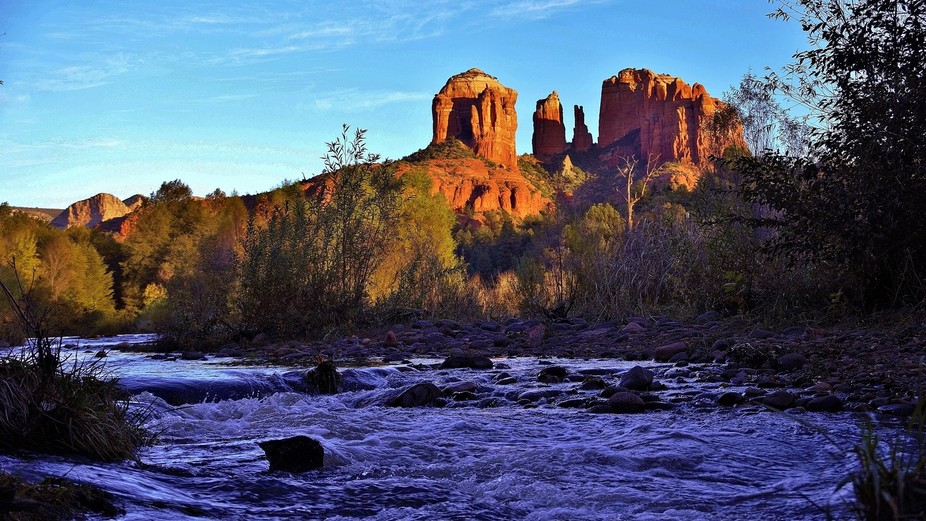 Few places in the US are as striking as Sedona, AZ.