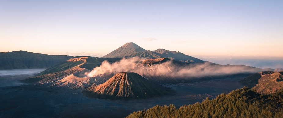 Mount Bromo Panoramic