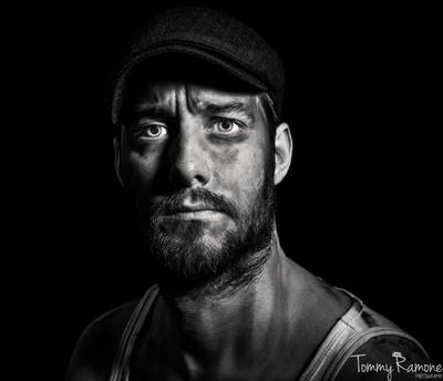 Coal miner selfie