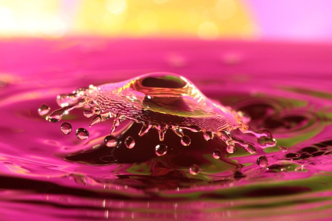 Splash by Henklet - Macro And Patterns Photo Contest