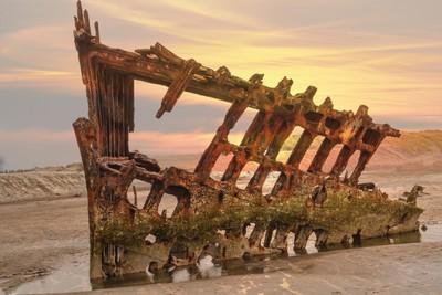 Barque Sunset