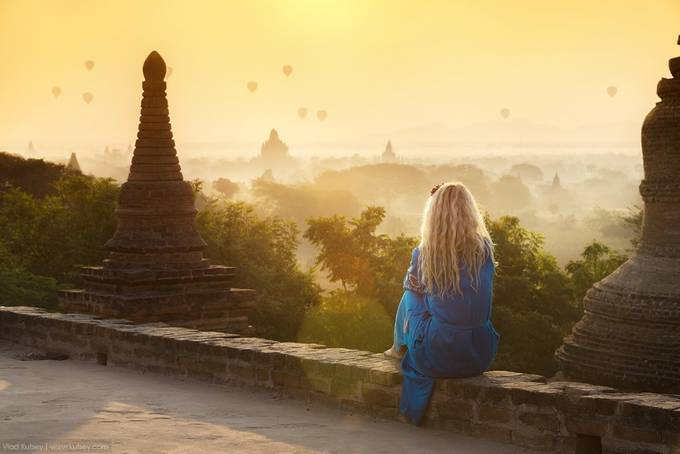 New Day in Bagan by kutsey - Rule Of Thirds Photo Contest v3
