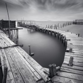 The stilts at Cais Palafítico do Porto da Carrasqueira are a unique sight. Those wooden docks are still used by local fishermen.  I went for a l...
