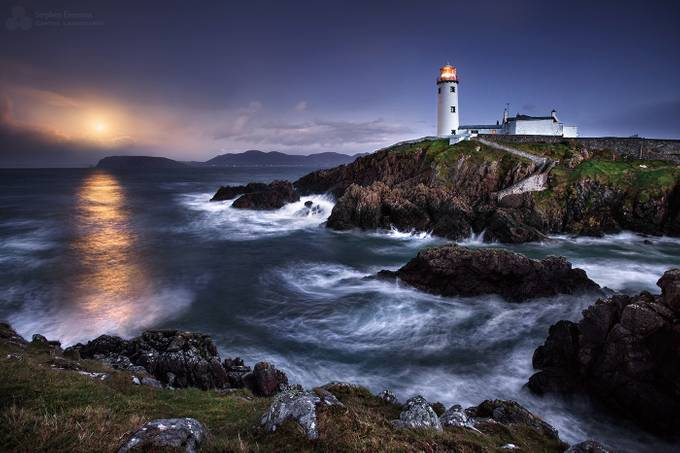 Moonlit Fanad by stephenemerson - Long Exposure In Nature Photo Contest