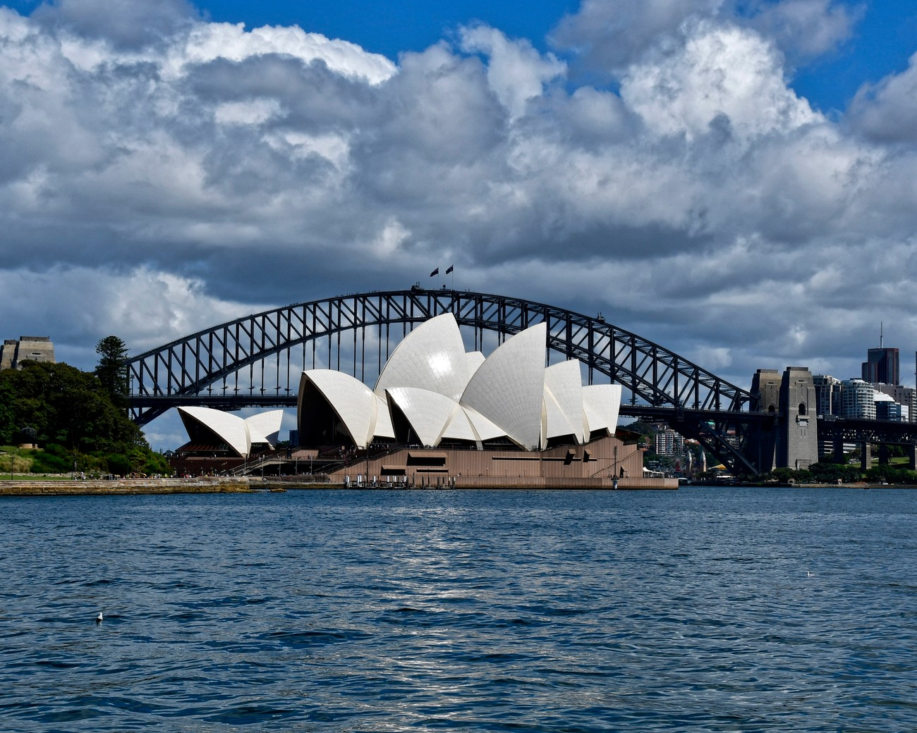 No visit to Sydney is complete unless there is a photo of the Opera House and the Sydney Harbor Bridge.  Here are both together, taken from another iconic site-The Royal Botanical Gardens.