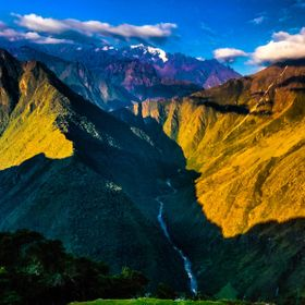 Andes Mountains Rugged