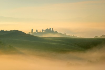 Morning in the mists