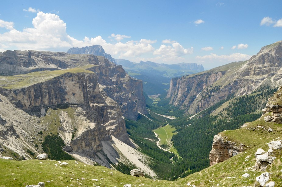 The perfect glacial valley