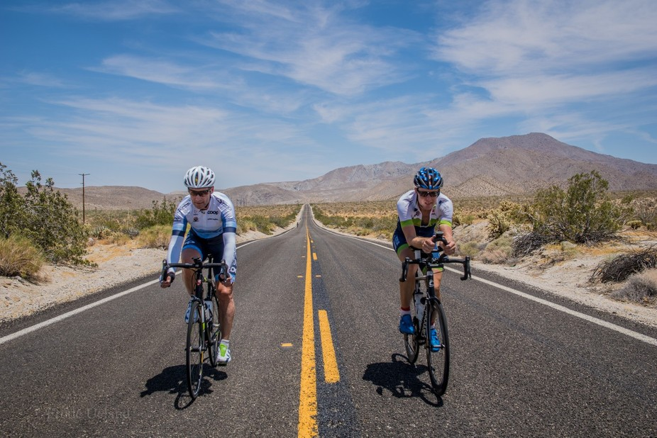 From a photoshoot in Borrego Springs before RAAM2017
