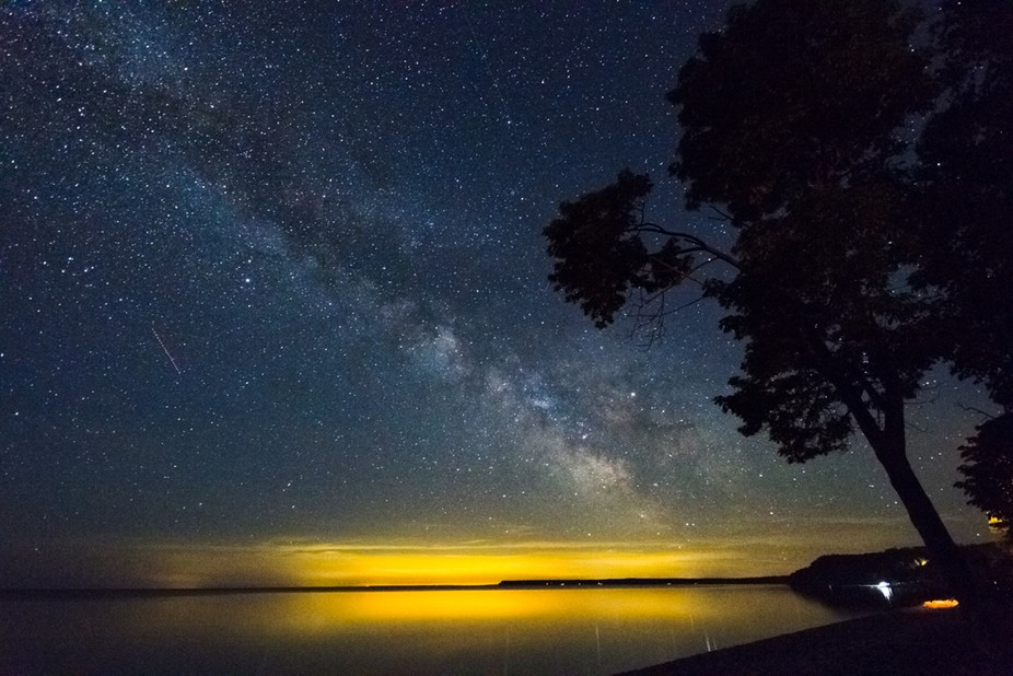 First time shooting the Milky Way.  Canon 7D Sigma 10-20mm f/4.0 ISO 3200 25 sec