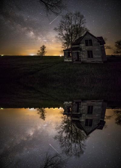 Through a mirror darkly