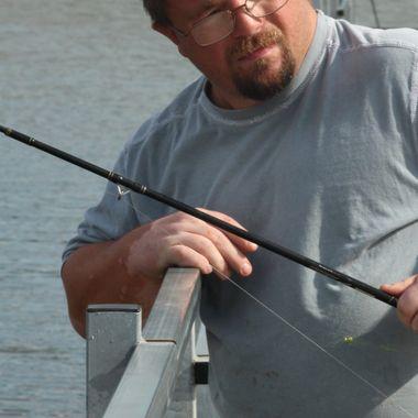 Fishing Pose
