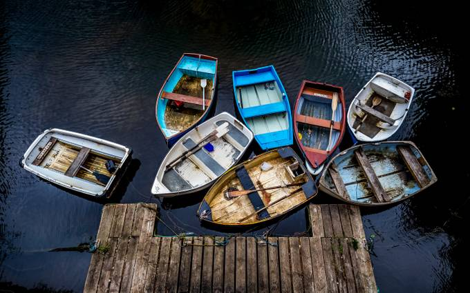 Boat Loads by StephenBridger - Ships And Boats Photo Contest