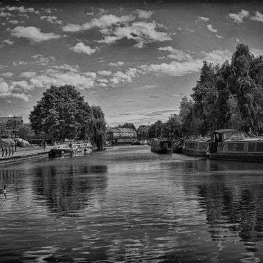The river ouse at Ely