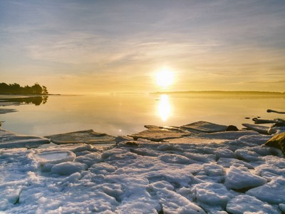 Sunrise in Finland