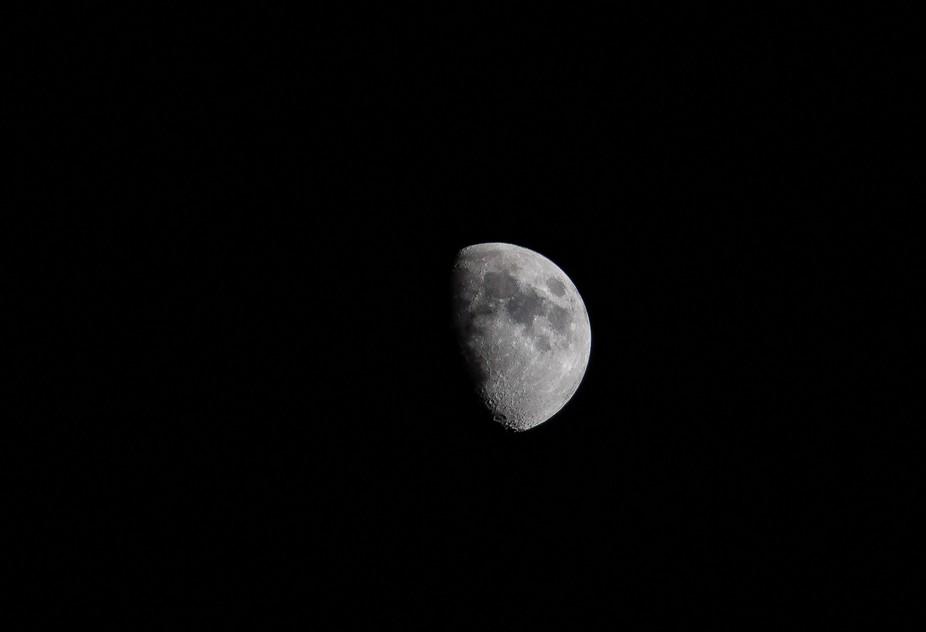 just a moon shot