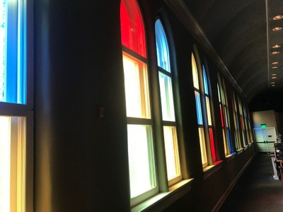 Stained glass windows of The Mother Church