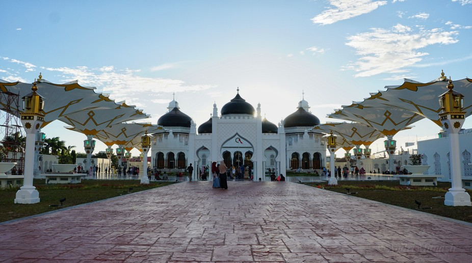 the Baiturrahman Grand Mosque is a symbol of religion, culture, spirit, strength, struggle and na...