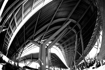 Sochi. Olympic Park. Train station
