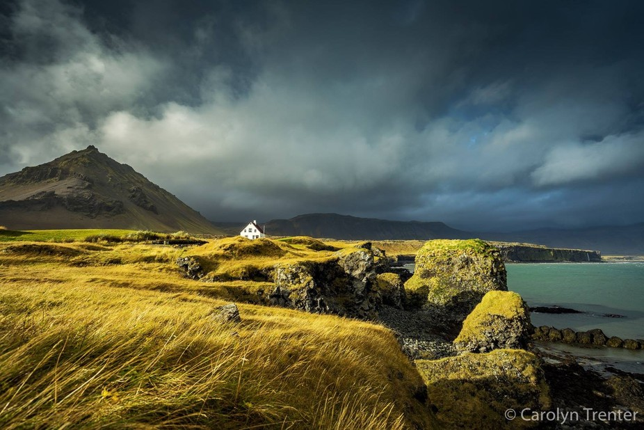 It really is all about the light. After a miserable day of dull weather in Iceland , we had all b...