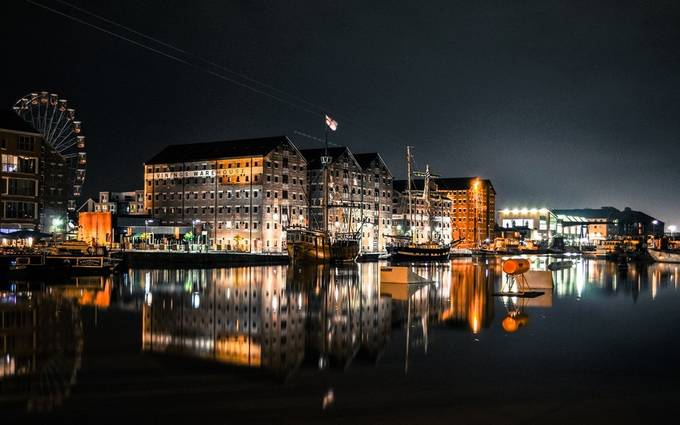 Gloucester Docks by elliesimsphotog - My Favorite City Photo Contest