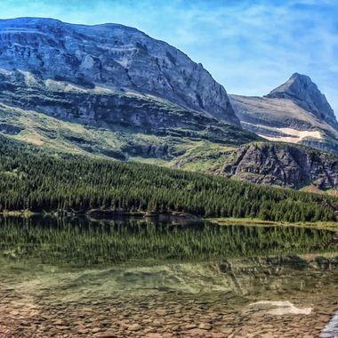 Redrock Lake- Glacier National Park