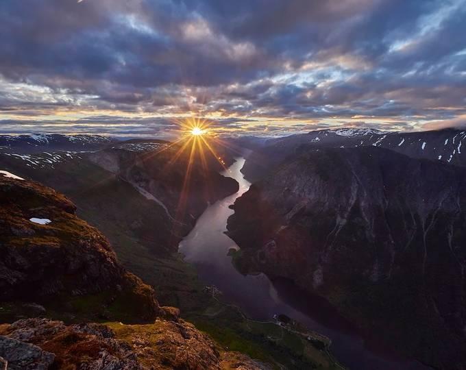 Summer sunrise by kjetilstenslandvilnes - Fish Eye And Wide Angle Photo Contest