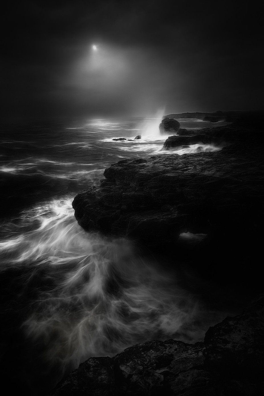 Stormy Black Sea by swqaz - Spectacular Cliffs Photo Contest