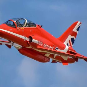 Red Arrows Squadron Leader Red 1 - David Montenegro at RAF Scampton Lincolnshire