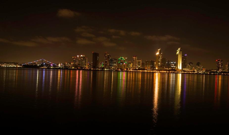 San Diego Night Scape