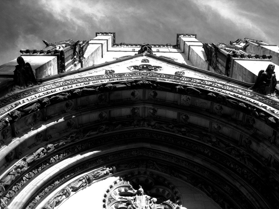 Architectural details of St. John the Divine