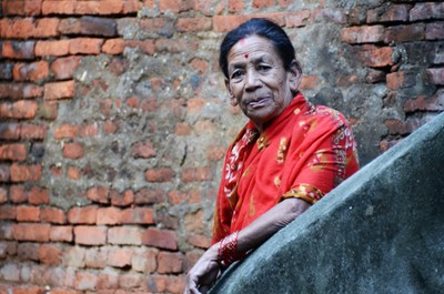 Nepalese Lady, Kathmandu