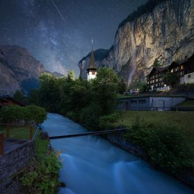 This is one of my most favourite and most popular images shot in beautiful Lauterbrunnen earlier this year. This small village in the heart of Sw...