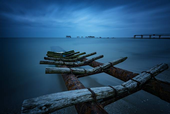 The Blue Hour by Flaviya - The Moving Clouds Photo Contest