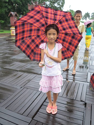 Rainy day at Kandawgyi Lake